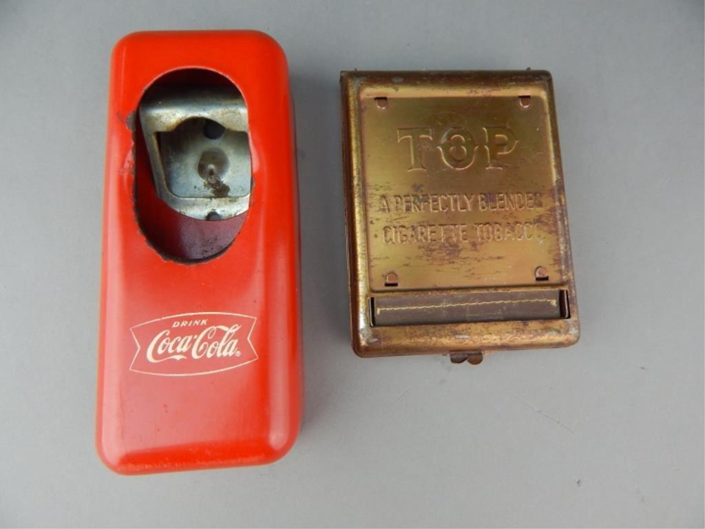 Vintage Cigarette Roller & Bottle Cap Opener