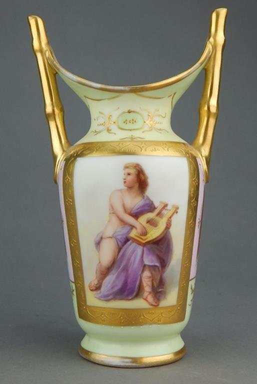 Royal Vienna Style Porcelain Vase