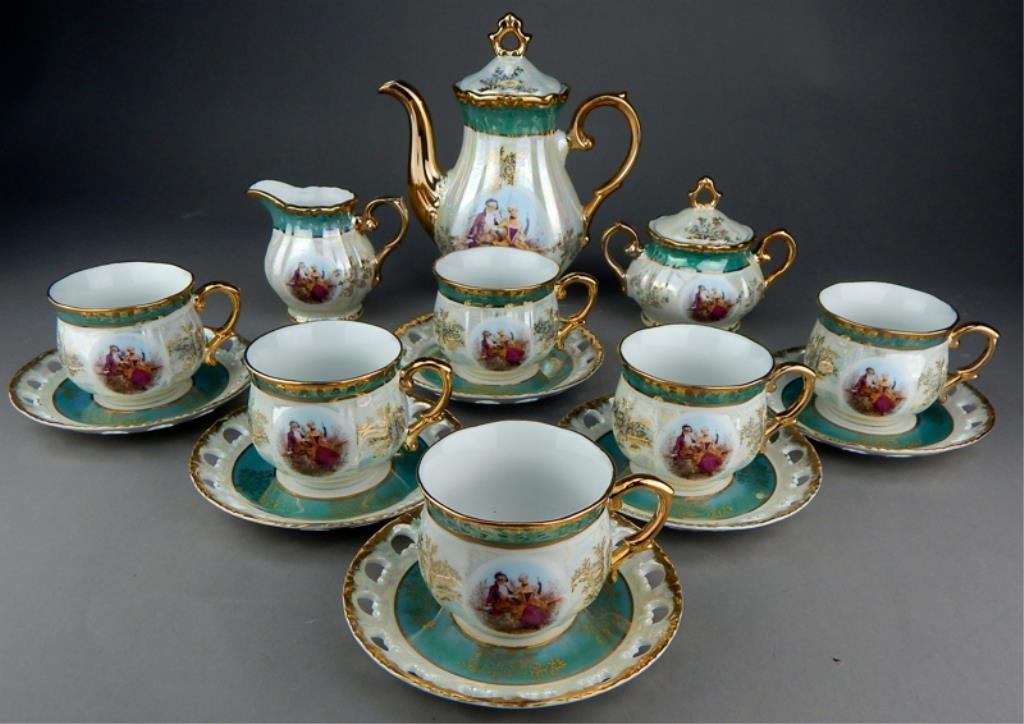 Lustre Porcelain Tea Set