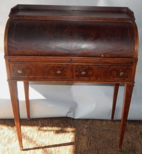 Ladies Roll Top Writing Desk