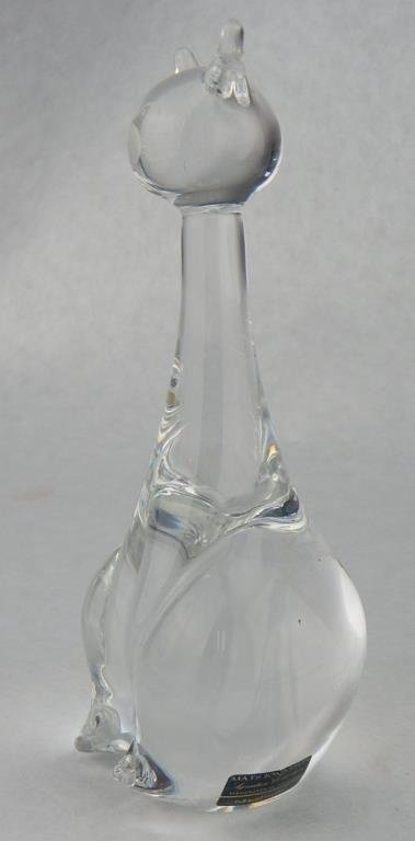 Mats Jonasson Crystal Cat & Fenton Crystal Cat - 6