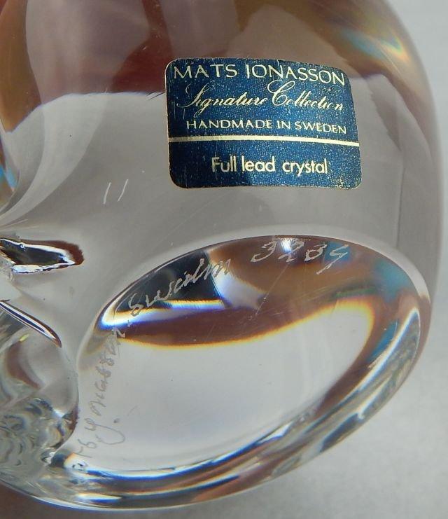 Mats Jonasson Crystal Cat & Fenton Crystal Cat - 7