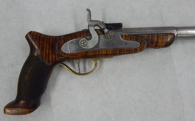 Black Powder Pistol Marked Bo-Mar on Site - 2