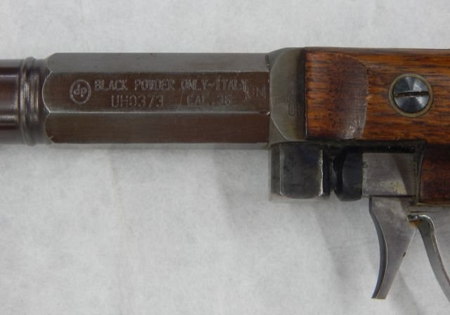 Black Powder Pistol 36 Caliber - 5