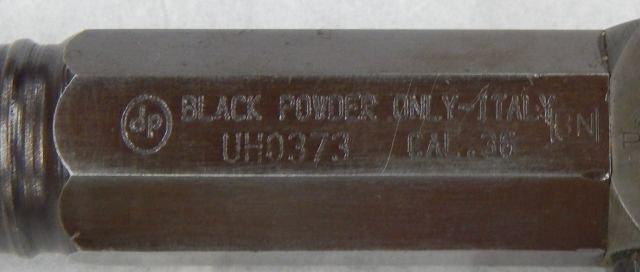 Black Powder Pistol 36 Caliber - 6