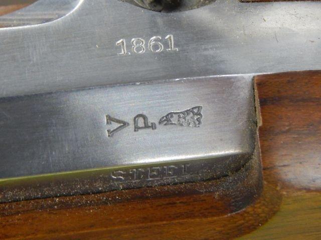 Sam Colt US 1861 Black Powder Rifle Replica - 6