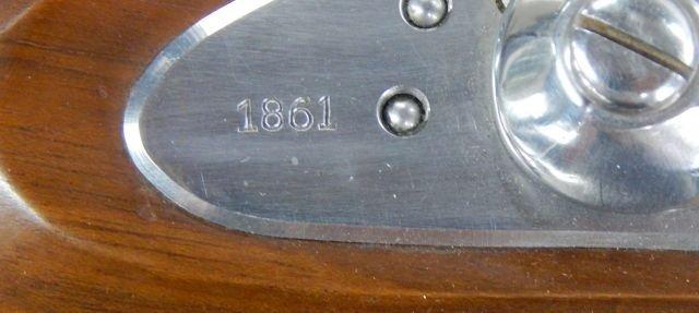 Sam Colt US 1861 Black Powder Rifle Replica - 9