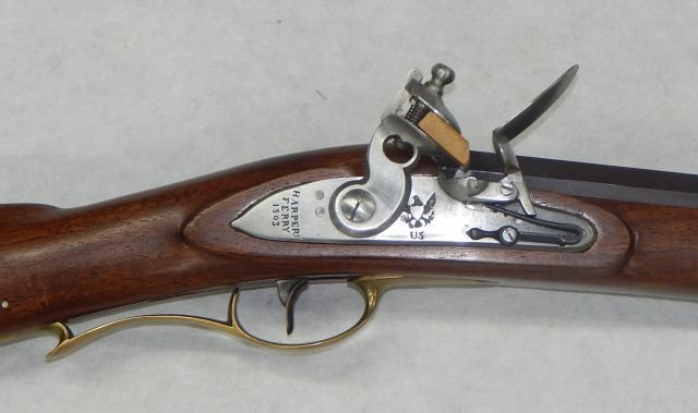 Harpers Ferry 1803 US Black Powder Rifle Replica - 3