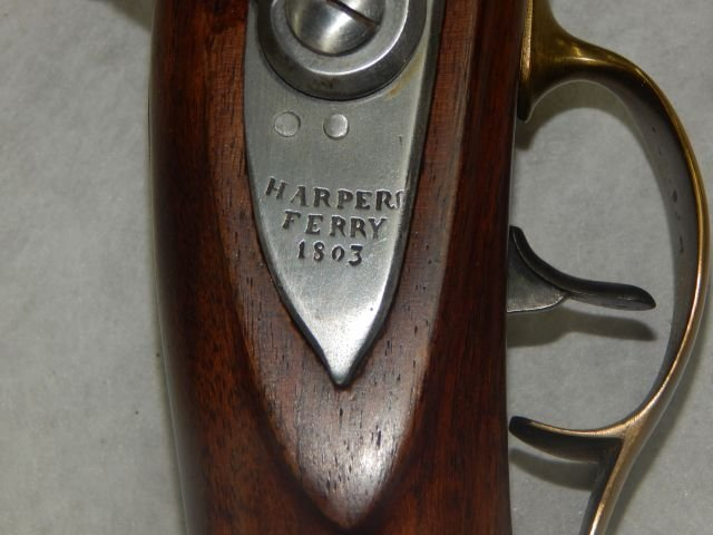 Harpers Ferry 1803 US Black Powder Rifle Replica - 6