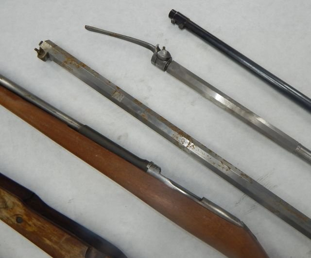 Three Incomplete Black Powder Rifles - 4