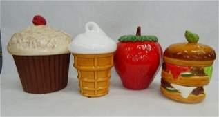 Vintage Ceramic Cookie Jars