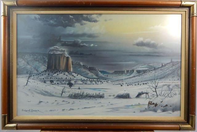Robert Draper (1938-2000) Oil on Canvas Painting