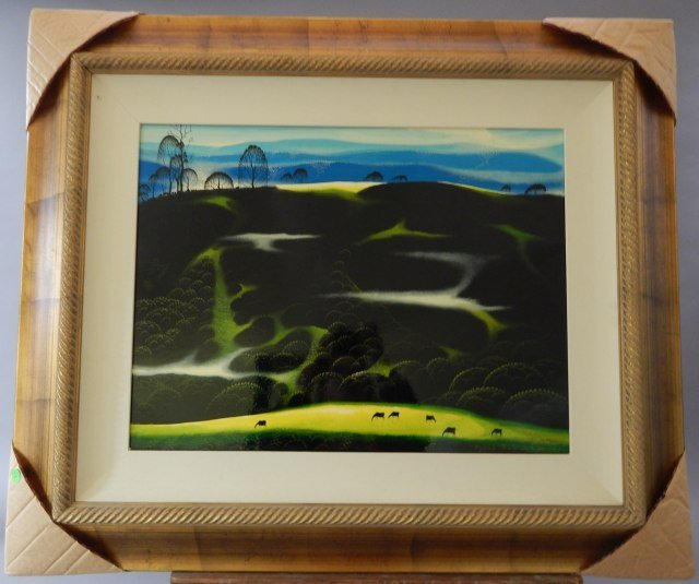"""(1) Eyvind Earle """"Horse Country"""""""