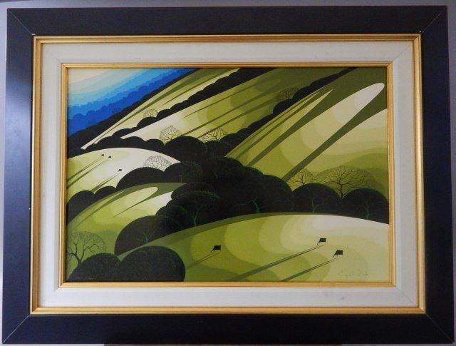 "(2) Eyvind Earle ""Sunlight"""