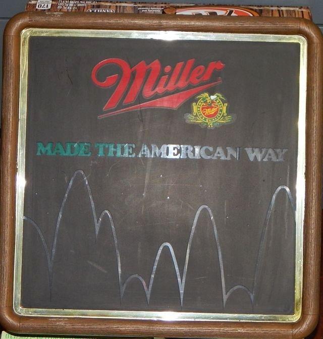 Vintage Miller Beer Light-up Sign
