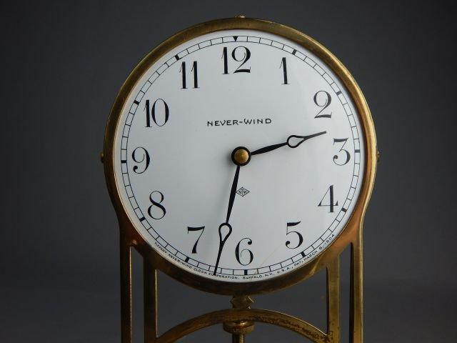 Antique Tiffany Never-Wind Dome Clock - 2