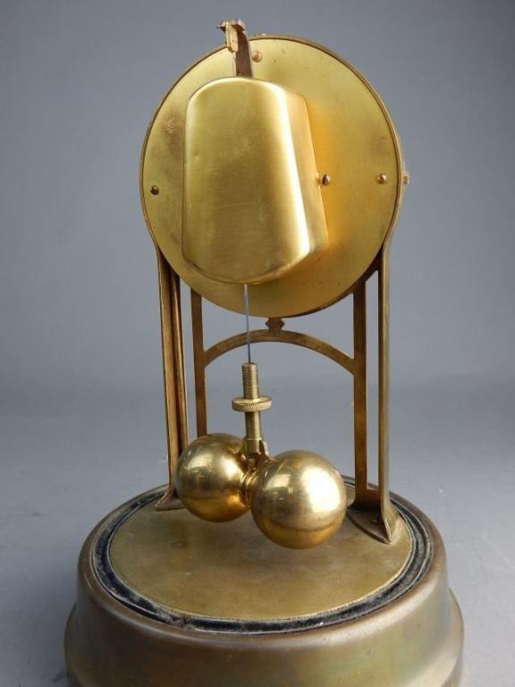 Antique Tiffany Never-Wind Dome Clock - 4