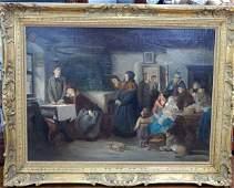 Casimer Van Den Dale 18181880 Oil on Canvas