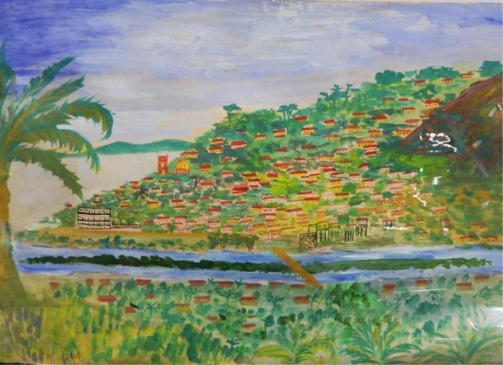 Manuel Lepe Macedo (1936-1984) Watercolor on Paper - 4