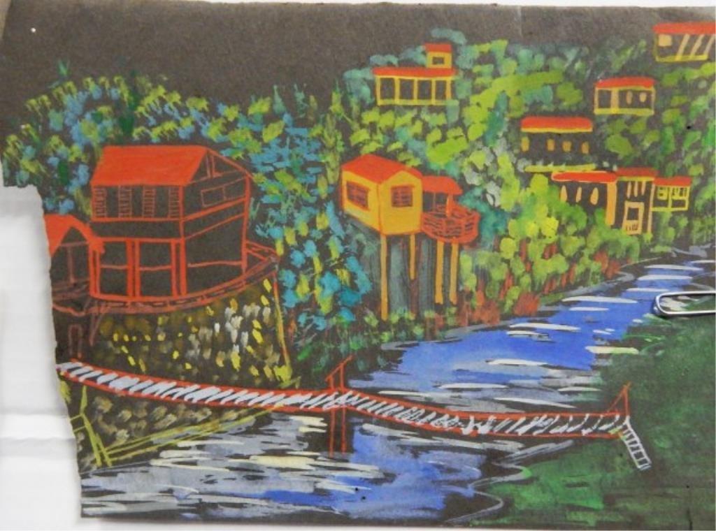 Manuel Lepe Macedo (1936-1984) Watercolor on Paper - 6