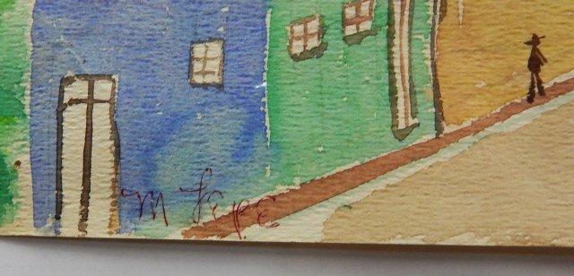 Manuel Lepe Macedo (1936-1984) Watercolor on Paper - 7
