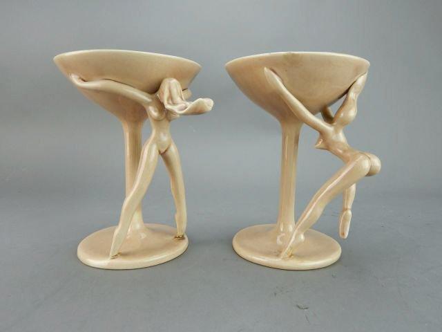 Dorothy Kindell Naughty Pottery Nude Martini's