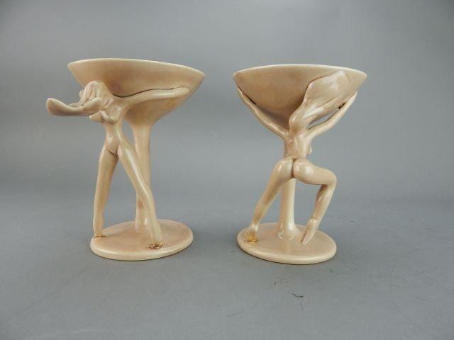 Dorothy Kindell Naughty Pottery Nude Martini's - 2