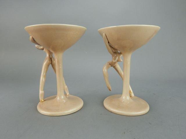 Dorothy Kindell Naughty Pottery Nude Martini's - 5