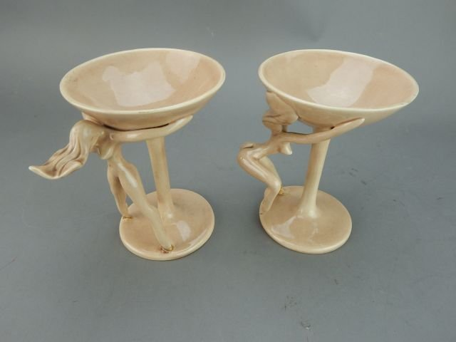Dorothy Kindell Naughty Pottery Nude Martini's - 6