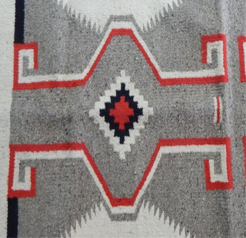 Navajo Handwoven Rug - 3
