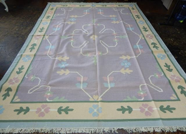 Dhurrie 100% Virgin Wool Rug 12' x 9'
