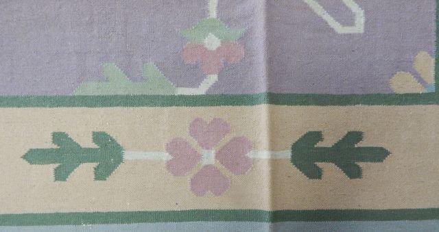 Dhurrie 100% Virgin Wool Rug 12' x 9' - 3