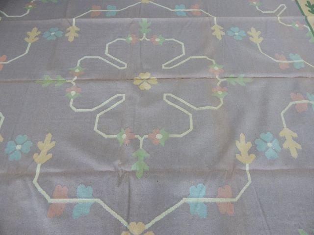 Dhurrie 100% Virgin Wool Rug 12' x 9' - 5