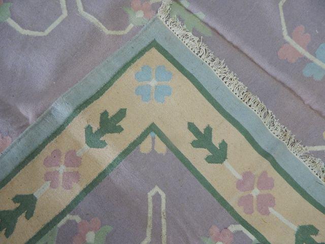 Dhurrie 100% Virgin Wool Rug 12' x 9' - 6