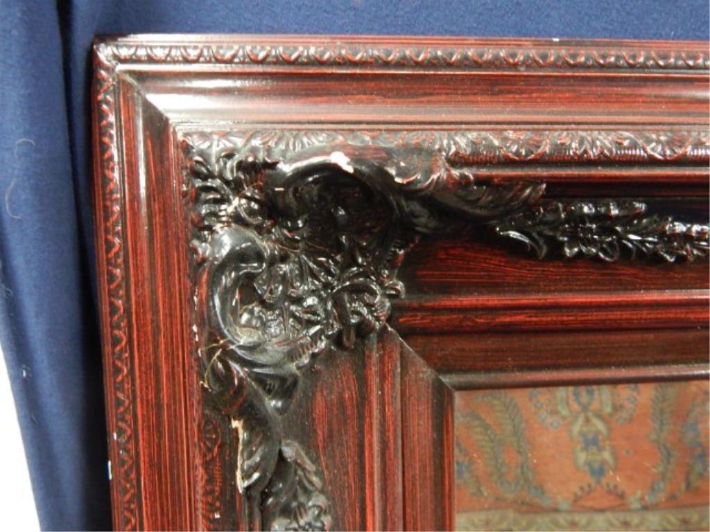 Large Decorative Framed Mirror - 2