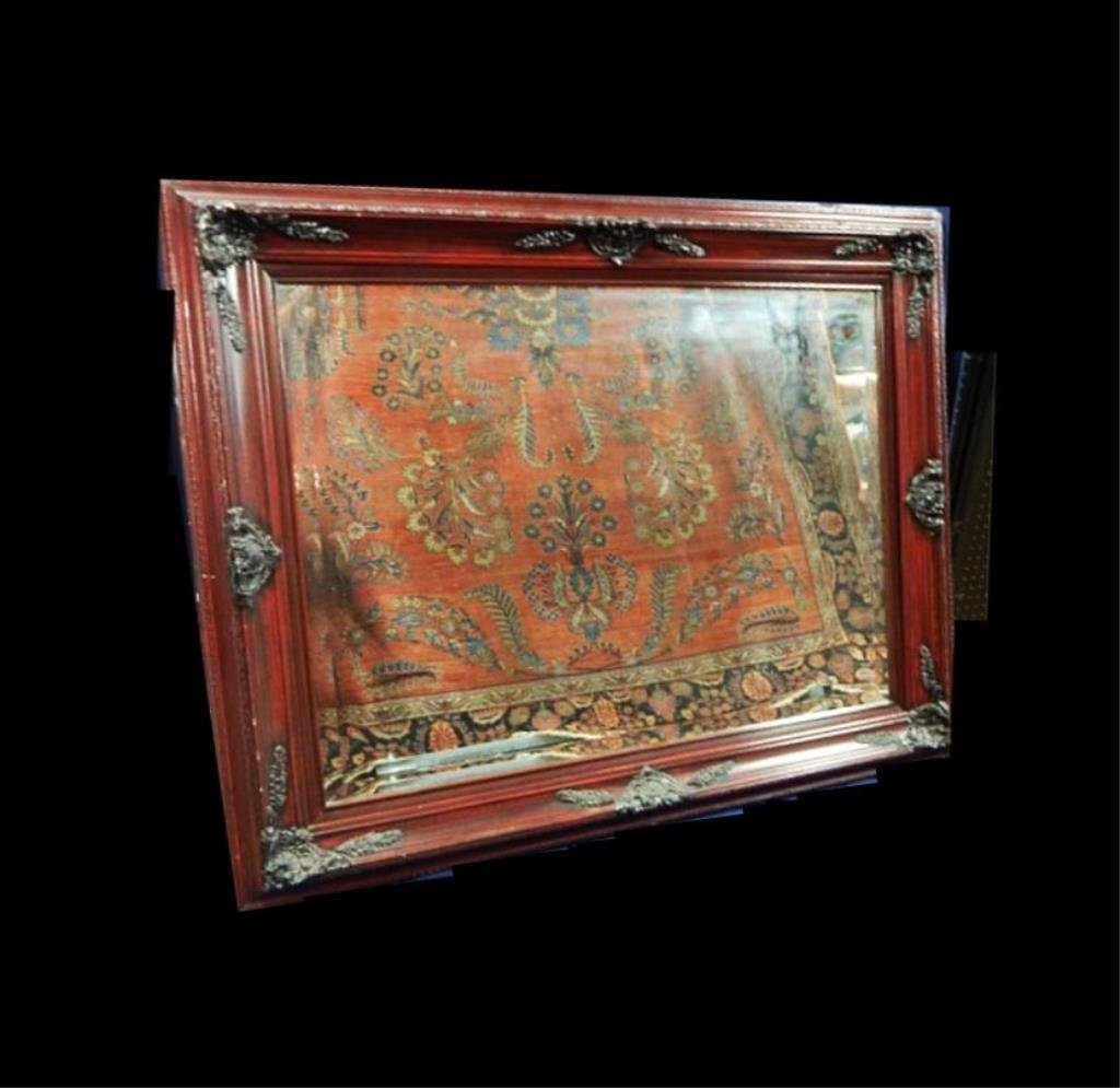 Large Decorative Framed Mirror - 4