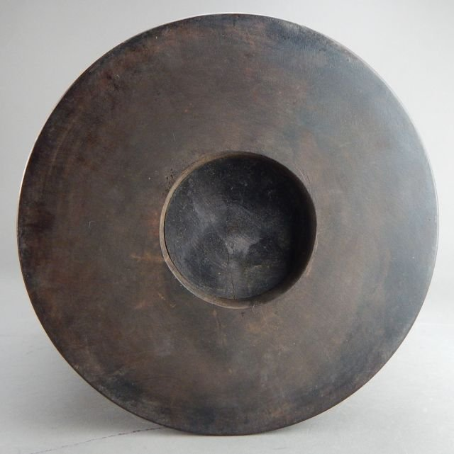 Hardwood Brush Pot - 5