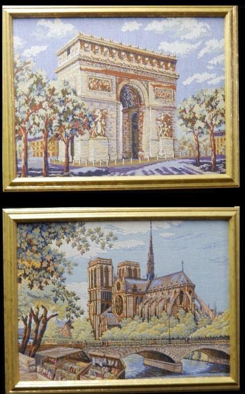 French Arte de Triomphe & Notre Dame Tapestry's