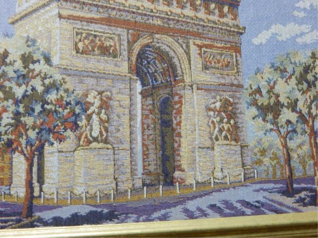French Arte de Triomphe & Notre Dame Tapestry's - 2