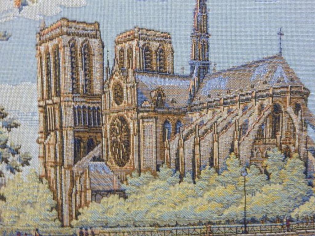 French Arte de Triomphe & Notre Dame Tapestry's - 3
