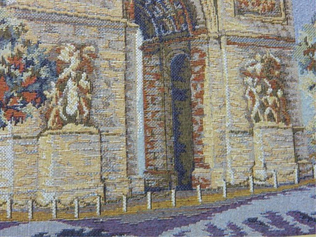 French Arte de Triomphe & Notre Dame Tapestry's - 4