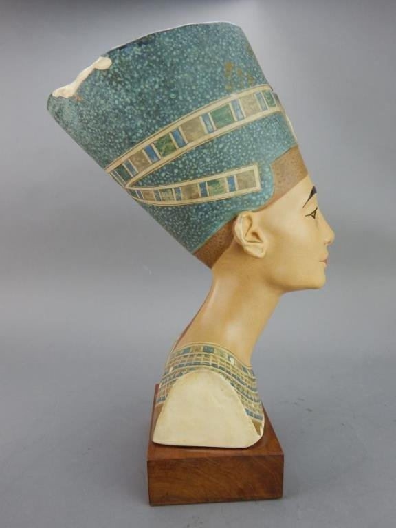 "Nefertiti ""Queen of Egypt"" Sculpture - 4"