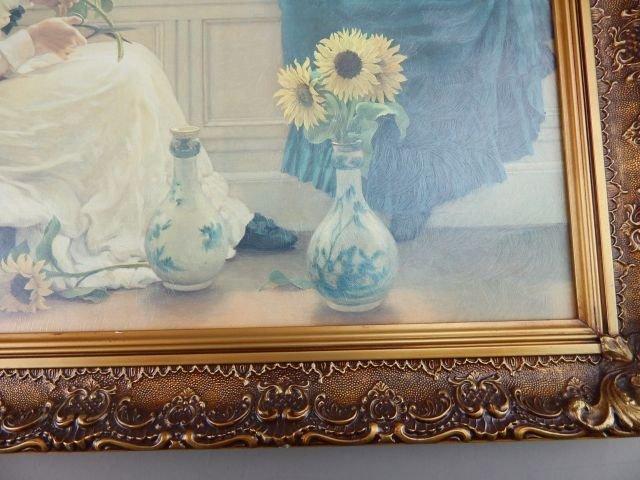"George Dunlop Giclee Print ""Sun & Moon Flowers"" - 4"