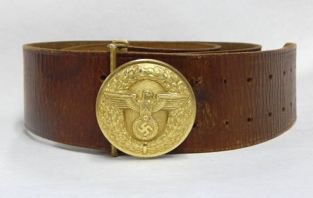 German Political Leaders Belt and Buckle
