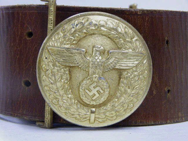 German Political Leaders Belt and Buckle - 2