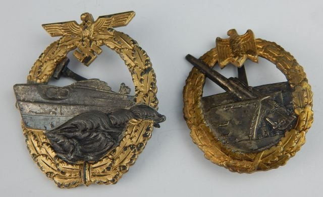 Six German Navy Badges - 2