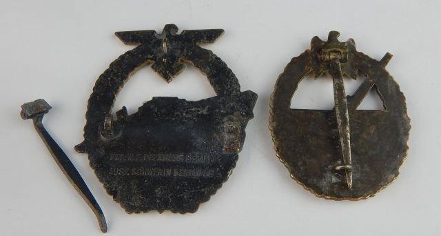 Six German Navy Badges - 3