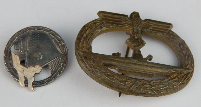 Six German Navy Badges - 4