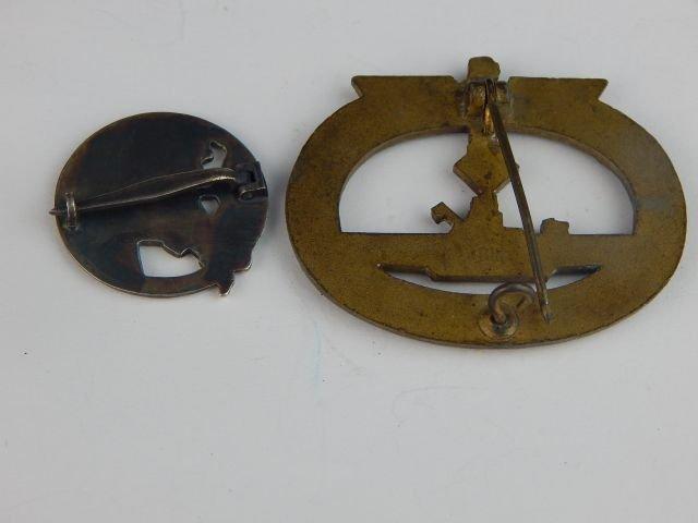 Six German Navy Badges - 5