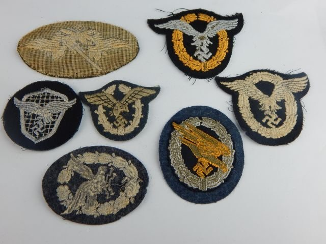 Seven German Luftwaffe Operational Badges - 2